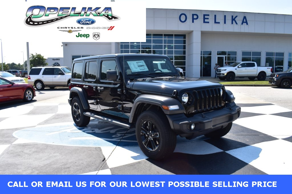 Jeep Wrangler Unlimited Sport >> New 2019 Jeep Wrangler Unlimited Sport 4wd 4d Sport Utility